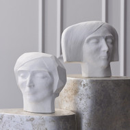Global Views Plaster Bust - Female