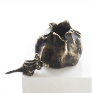 Global Views Pomegranate - Bronze