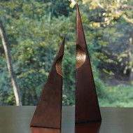 Global Views Pyramid Sculptures - Pair