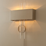 Global Views Radio City Wall Sconce - Nickel - HW