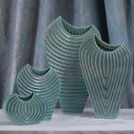 Global Views Ripple Vase - Azure - XL
