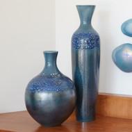 Global Views Sapphire Ombre Bottle - Sm
