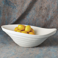 Global Views Terrace Bowl - Matte White
