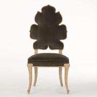 Global Views Wiggle Dining Chair - Grey