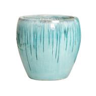 Rounded Planter - Turquoise - Xlarge