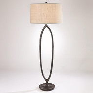Studio A Ellipse Floor Lamp - Bronze