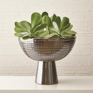 Studio A Florentine Footed Bowl - Bronze