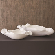 Studio A Free Form Bowl - Matte White - Lg
