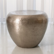 Studio A Goa End Table - Antique Nickel