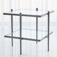 Studio A Laforge End Table - Natural Iron