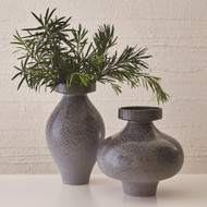 Studio A Nova Vase - Reactive Grey - Short
