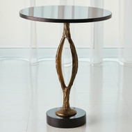 Studio A Pod Accent Table - Antique Gold