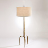 Studio A Riley Floor Lamp - Gold Leaf