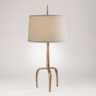 Studio A Riley Table Lamp - Gold Leaf