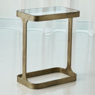 Studio A Saddle Table - Antique Gold