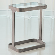 Studio A Saddle Table - Natural Iron