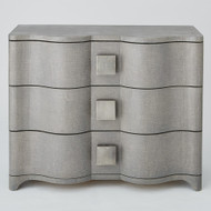 Studio A Toile Linen Chest - Grey
