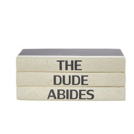 "E Lawrence 3 Vol. Quote Stack ""The Dude Abides"""