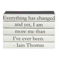 "E Lawrence 5 Vol. Quote Stack ""Everything Has Changed..."""