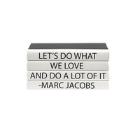 "E Lawrence Quotations Series: Marc Jocobs ""Let'S Do..."" 4 Vol."