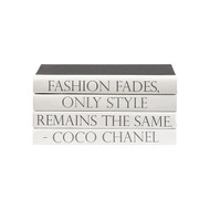 "E Lawrence Quotations Series: Coco Chanel ""Fashion Fades..."""