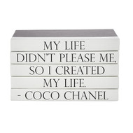 "E Lawrence Quotations Series: Coco Chanel ""Created"""
