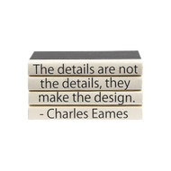 "E Lawrence Quotations Series: Charles Eames ""The Details..."" 4 Vol."