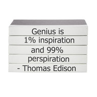 "E Lawrence Quotations Series: Thomas Edison ""Genius"""