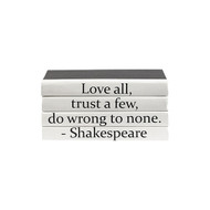 "E Lawrence Quotations Series: Shakespeare ""Love All..."" 4 Vol."