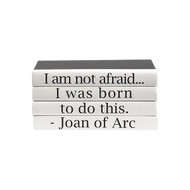 "E Lawrence Quotations Series: Joan Of Arc ""I Am Not Afraid..."""