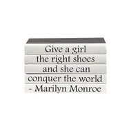 "E Lawrence Quotations Series: Marilyn Monroe ""...The Right Shoes..."""