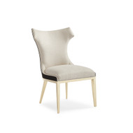 Caracole The Urbane Dining Side Chair - Majestic Gold