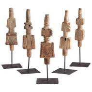 Cyan Design Rustic Totem Sculpture - Small