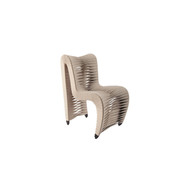 Phillips Collection Seat Belt Dining Chair, Beige