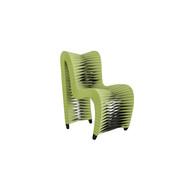 Phillips Collection Seat Belt Dining Chair, Green