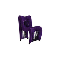 Phillips Collection Seat Belt Dining Chair, Purple
