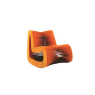 Phillips Collection Seat Belt Rocking Chair, Orange