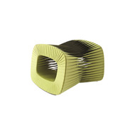 Phillips Collection Seat Belt Ottoman, Green
