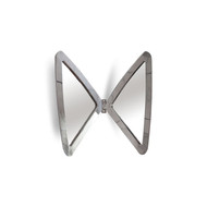 Phillips Collection Butterfly Mirror, Stainless Steel