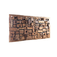 Phillips Collection Asken Wall Art, Wood, LG