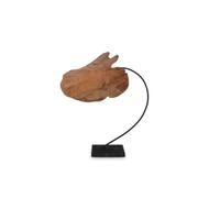 Phillips Collection Carved Leaf Sculpture, LG
