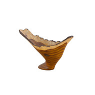 Phillips Collection Burled Vase, Faux Bois
