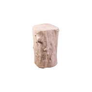 Phillips Collection Log Stool, Roman Stone, SM