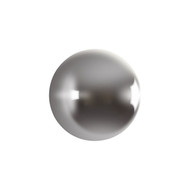 Phillips Collection Ball on the Wall, Polished Aluminum, LG