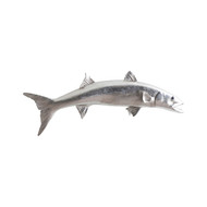 Phillips Collection Barracuda Fish, Silver Leaf