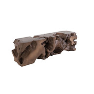 Phillips Collection Freeform Bench, Bronze