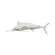 Phillips Collection Blue Marlin Fish, Silver Leaf