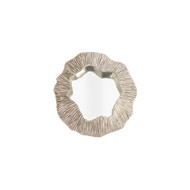 Phillips Collection Fungia Mirror, Silver