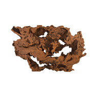 Phillips Collection Burled Root Wall Art, Faux Bois, LG