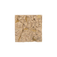 Phillips Collection Rubble Wall Tile, Brass Accents